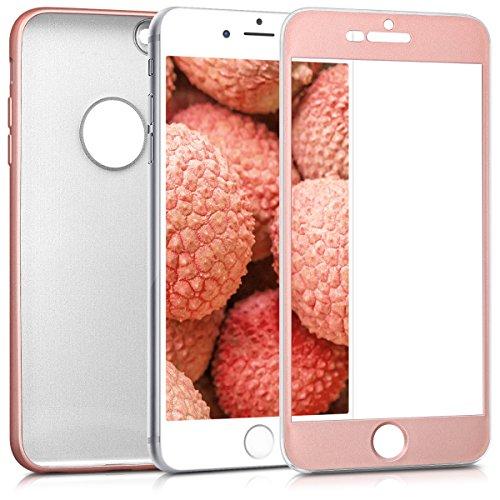 Kwmobile apple iphone 6 plus / 6s plus custodia - cover protettiva fronte retro tpu silicone - back case protezione totale per apple iphone 6 plus / 6s plus