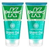 Supercooling Shave Gel 150ml TWIN-PACK from King of Shaves