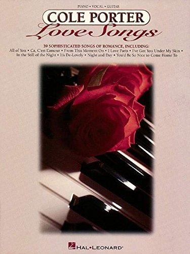 COLE PORTER LOVE SONGS (Cole Porter-piano-musik)