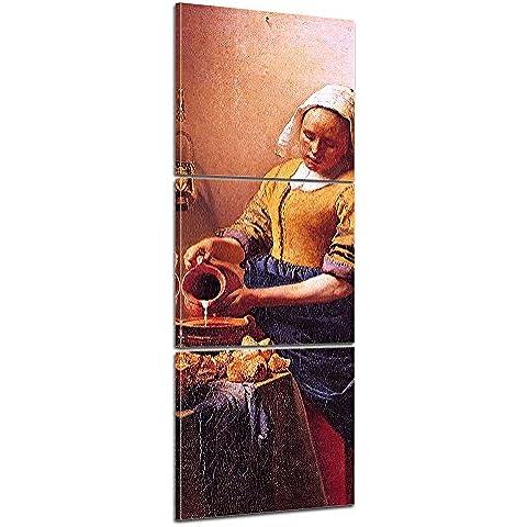 Bilderdepot24 foto lienzo Panorama Jan Vermeer - Viejos Maestros