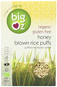 Big Oz Organic Honey Rice Puffs 250 g (Pack of 5)