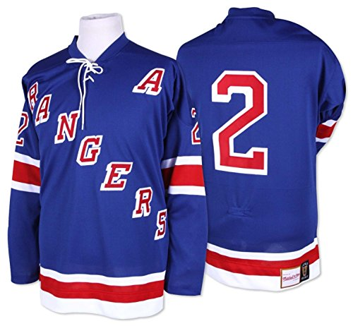 Brad Park New York Rangers Mitchell & Ness Authentic 1971 Blue NHL Jersey