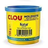 Clou Holzpaste 150g wasserverdünnbare Holz-Paste Holzkitt Reparatur-Kitt Farb...