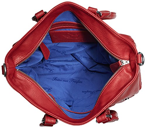 Fritzi aus Preussen Holly FaP-HW2-14-10 Damen Henkeltaschen 34x25x13 cm (B x H x T) Rot (Rubin-Be)