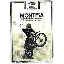 Montesa service, repair handbook, 123-360cc singles, 1965-1975