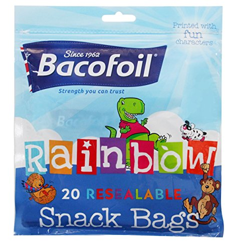 Baco Rainbow Snack Bag 20s 100g