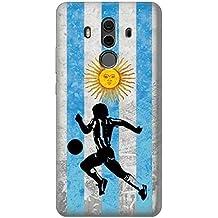 Argentina Football Soccer Flag Case Cover Custodia per Huawei Mate 10 Pro, Porsche Design