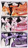 1x 3Stück Duftsäckchen Säcke zum Aufhängen Duft Lufterfrischer Kleiderschrank Auto verschiedene Düfte