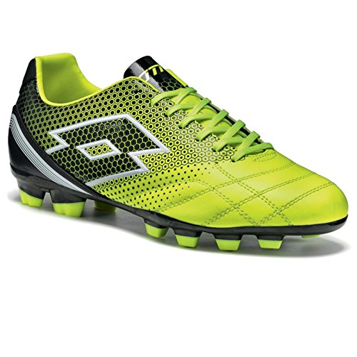 Lotto Spider 700 Xiii Fgt, Chaussures de Foot Homme Multicolore - Amarillo / Negro (Ylw Saf / Blk)