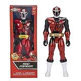 Bandai 43621 Power Rangers Ninja Steel - Figura coleccionable, Rojo, 5 x 11 x 30 cm