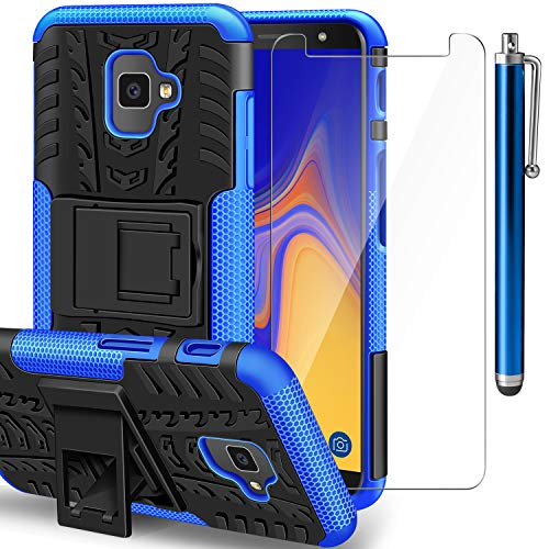 AROYI Funda Samsung Galaxy J4 Plus + Protector Pantalla