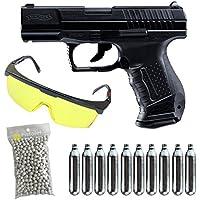 Walther PAQUETE COMPLETO CON ACCESORIOS -Umarex p99 co2 culata metal blowback Calibre 6mm. 1