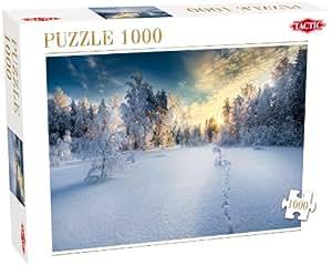 Tactic - 40905 - Puzzle Classique - Paysage Hiver - Collection De 1000 Pièces