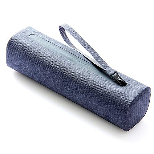 Einfache Schreibwaren Aufbewahrungstasche Federmäppchen, Student Kreative Wasserdichte Bleistiftbeutel Blau