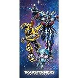 Bade- und Strandtuch, 140 x 70 cm, 100 % Baumwolle, Motiv: Transformers