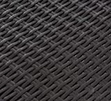 Keter Pacific Rattan Outdoor verstellbare Sonnenliege - Grau (Graphit) - 3