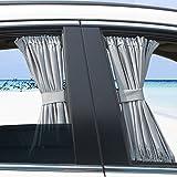 Basong Gardine Vorhang Sonnenschutz für Auto Baby UV-Schutz Sonnenblende
