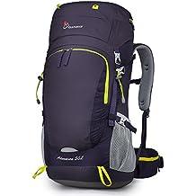 7c434adbe0 MOUNTAINTOP 50/55L Zaino Trekking Impermeabile Escursionismo Montagna  Campeggio Alpinismo Viaggio