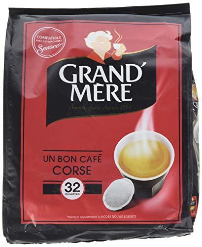 GRAND MERE Café Corsé 160 Dosettes Souples 211 g -...