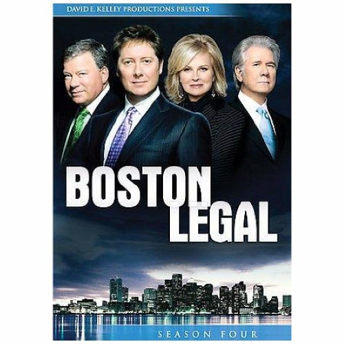 BOSTON LEGAL:SEASON 4(5DISC)