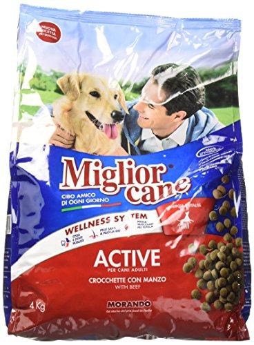 Migliorcane Crocchette con Manzo per Cani Adulti - 4000 gr