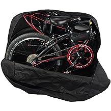 Huntvp Bolsa de Almacenamiento de Bicicleta Bolso Plegable del recorrido viaje de la Bici Para la Bici 14 pulgada / 20 pulgada
