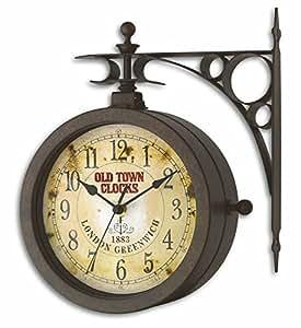 TFA 60.3011 Horloge mural vintage avec thermomètre