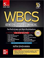 WBCS General Studies Manual - For Preliminary and Main Examinations | 5th Edition