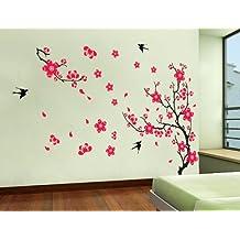 UberLyfe Flowers Wall Sticker ( Sheet size 60 X 90cm) - WS-439