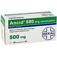 ANCID 500 mg Kautabletten 100 St preisvergleich bei billige-tabletten.eu