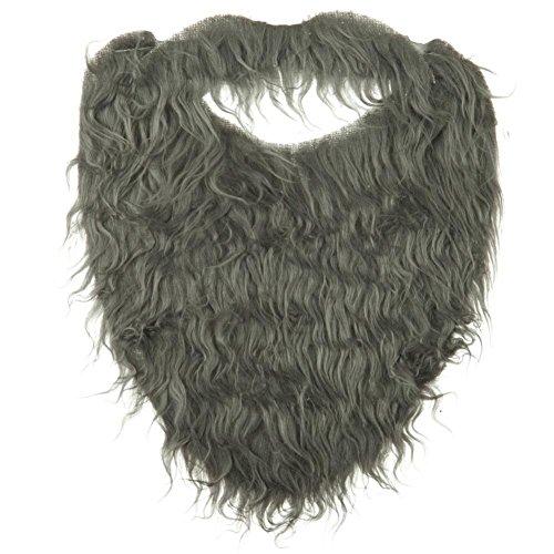 Faux Barbe et moustache - Gris