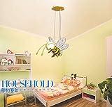OOFAY LIGHT Lampen Kinderzimmer Modern Deckenleuchte Pendelleuchte, E27 1 flammig, Metall Stoff, Karikatur Design, Hängeleuchte, Leuchte für Schlafzimmer Junge Mädchen Zimmer, Kind BeLe