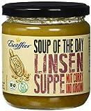Escoffier Bio Linsensuppe mit Curry und Kurkuma, 4er Pack (4 x 355 ml)