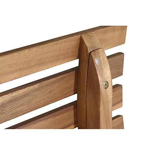 Siena Garden 2er Bank Santana, 67,5x140x92,5cm, Akazienholz, geölt in natur, FSC 100% - 10