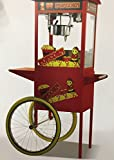 #7: Andrew james Electric Popcorn maker Popcorn Machine For commercial use with Cart