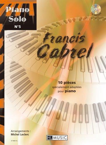 Piano solo n5 : Francis Cabrel
