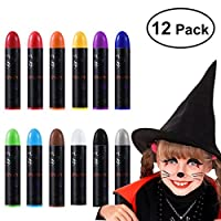 Unomor halloween makeup face paint kits