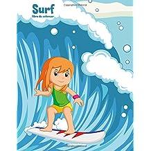 Surf libro de colorear 1: Volume 1