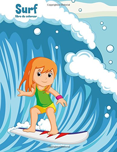 Surf libro de colorear 1: Volume 1 por Nick Snels