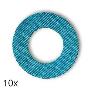 51siL%2BPN4zL. SS300  - Freestyle Libre Fixierungstapes (10 Stück) - Türkis | Diasticker®