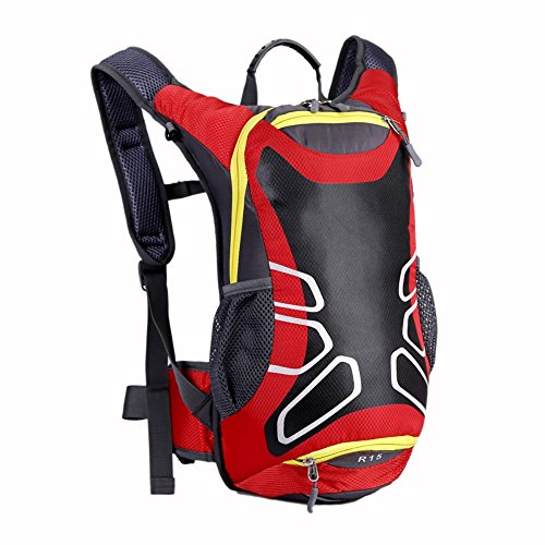 HOAEY Senderismo Folding Manejable ligero de mochila para viajar Escalada Ciclismo Running camping Outdoor Sports 15L