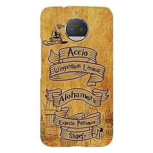 PrintVoo Harry Potter Spells Printed Mobile Case for Motorola G5S Plus / Moto G5s Plus / Moto G5S+