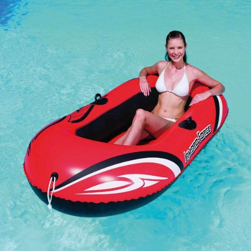 Schlauchboot Boot ORANGEN 186x100cm Hydro Force Raft, Gummiboot