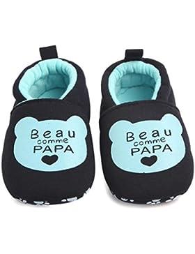Lenfesh Kleinkinder Winter Warme Antischlupf Krippe Schuhe Niedlich Soft Sohle Hausschuhe