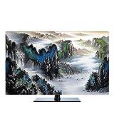 NACHEN TV-Staubschutz-Abdeckung LCD-hängende Staub-Abdeckung Fernsehapparat-Hauben-Gewebe-Haushalts-Waren Staubdichte Abdeckung , color 5 , 43