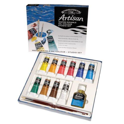 winsor-newton-artisan-olfarbe-studio-set-inkl-2-pinsel-leinol-10-farben