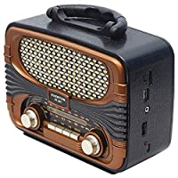 EVERTON RT-807BT USB/SD/FM/BLUETOOTH DESTEKLİ NOSTALJİK RADYO