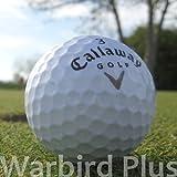 Der beliebte Callaway Warbird Golfball mit dem Extra an Distanz. Eine überragende Weite dank weichem, hochelastischem Kern und die verbesserten Flugeigenschaften, welche auf das bewährte HEX-Dimple-Design zurückzuführen sind, machen den Warbi...