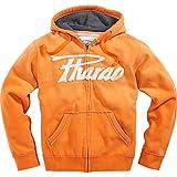 Pharao Sweat-Jacke Sweatshirt-Jacke Hoodie Kapuzen-Jacke Hoodie 1.0 orange M