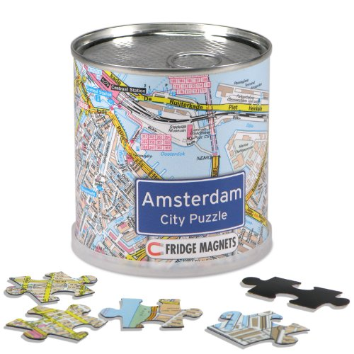 City Puzzle Magnets - Amsterdam
